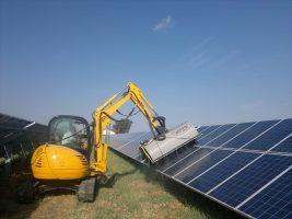 pulizia pannelli solari fotovoltaici con acqua demineralizzata