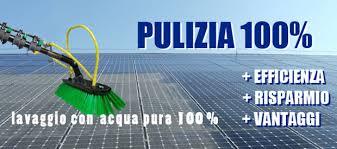 manutenzione pulizia e controllo impianto fotovoltaico