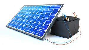 accumulo batterie fotovoltaico
