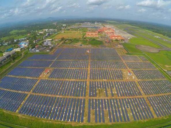 impianto fotovoltaico aeroporto