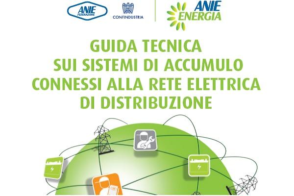 Guida Tecnica di Anie Energia sui sistemi di accumulo Lombardia